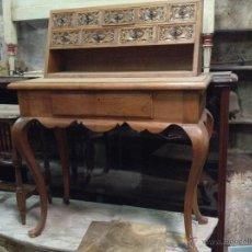 Antiquitäten - ESCRITORIO DE ROBLE MACIZO - 45287992