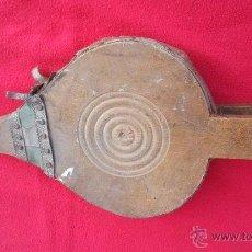 Antigüedades: ANTIGUO FUELLE EN MADERA Y CUERO. Lote 45289338