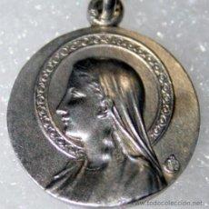Antigüedades: MEDALLA STA. CRISTINA EN PLATA DE LEY - 18MM. Lote 194769290