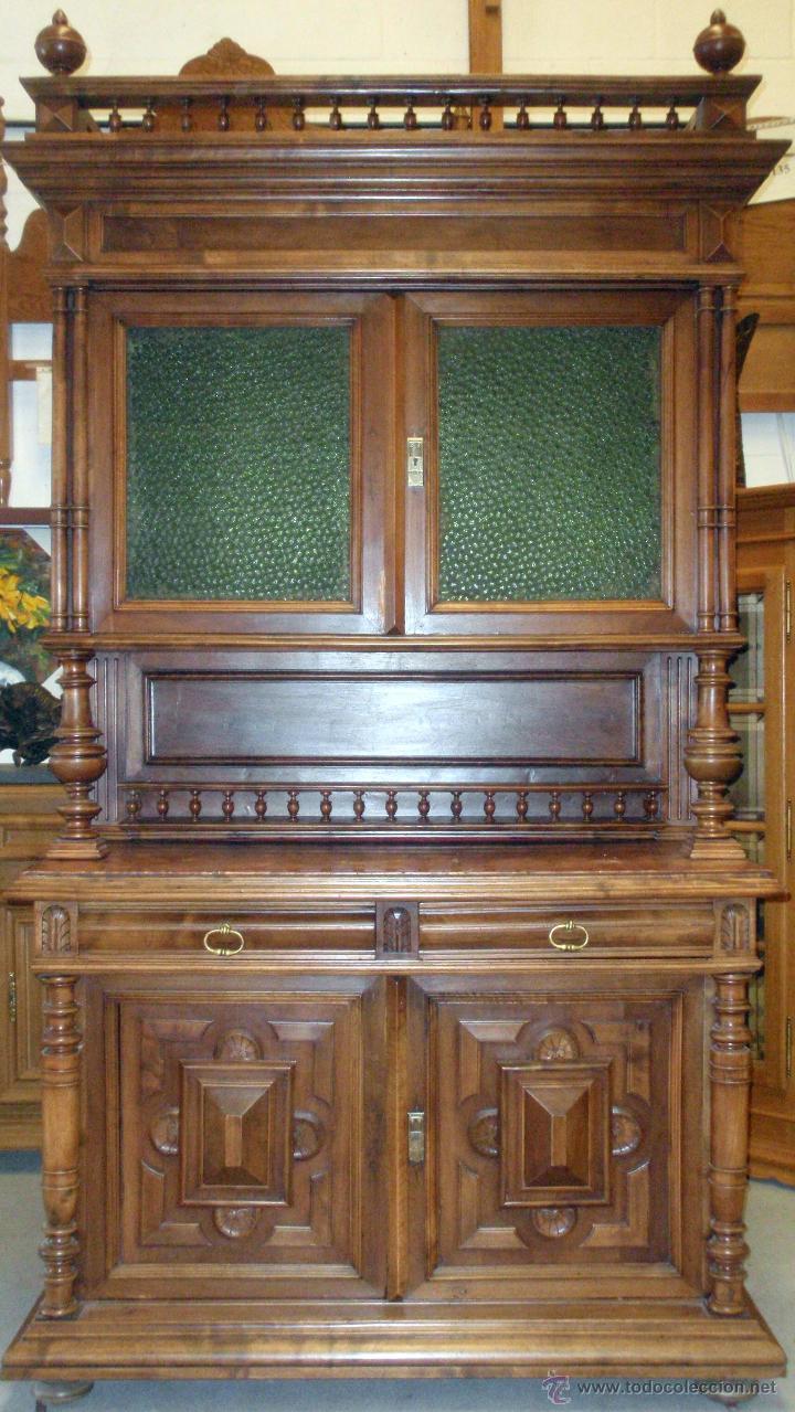 Artesanato Geraldi Mdf ~ mueble vitrina aparador de nogal francés maci Comprar