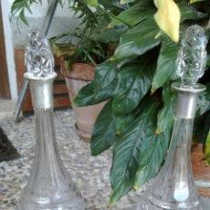 Antigüedades: LICORERAS DE PLATA. Lote 45331801