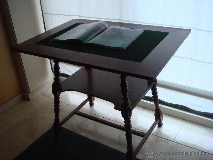 ANTIGUA MESA DE JUEGO RESTAURADA (Antigüedades - Muebles Antiguos - Mesas Antiguas)