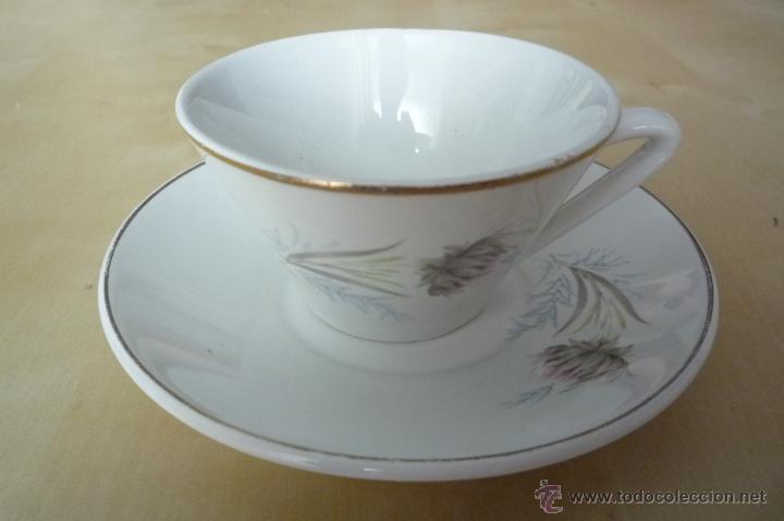Antigüedades: Taza y plato - Foto 2 - 45333416