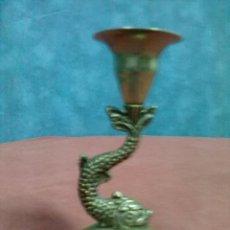 Antigüedades: VELERO CANDELERO METAL PLATEADO . Lote 45333556