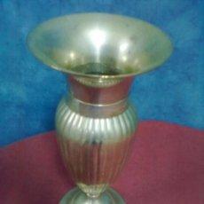 Antigüedades: JARRON GALLONADO BRONCE PLATEADO. Lote 45333740