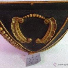 Antigüedades: MÉNSULA EN MADERA SIGLO XIX- 325. Lote 43841316