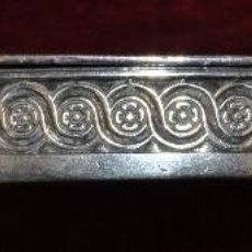 Antigüedades: DESPABILADERA EN PLATA DEL SIGLO XIX. Lote 45354087