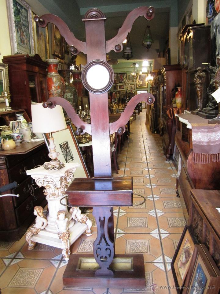 elegante y colocable recibidor de caoba isabeli Comprar Muebles