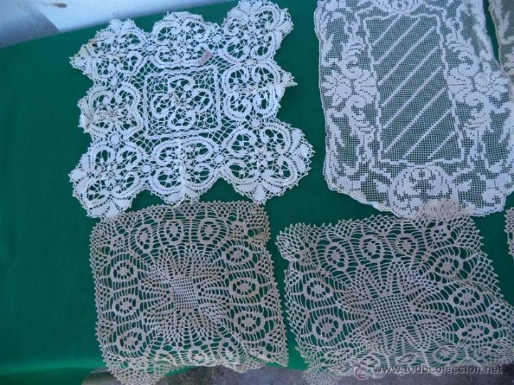 Antigüedades: 6 topetes de mesas hecho a mano - Foto 3 - 45406047