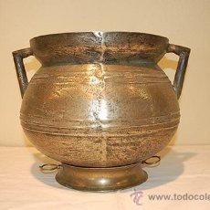 Antigüedades: ANTIGÜEDADES OLLA DE BRONCE, SIGLO XVIII. Lote 45418110