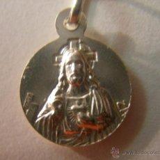 Antigüedades: ESCAPULARIO EN PLATA DE LEY - 12MM. Lote 72801121