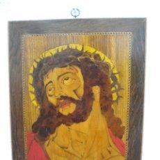 Antigüedades: IMPORTANTE CRISTO DE MARQUETERIA 1920'S.. Lote 45433630