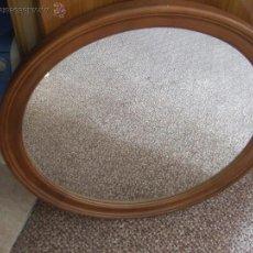 Antigüedades - espejo marco madera - 110105736