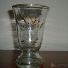 Antigüedades: JARRÓN CRISTAL . Lote 45445837