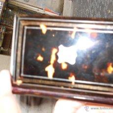 Antigüedades: CARNET DE BAILE DE CAREY Y ORO. Lote 45456016