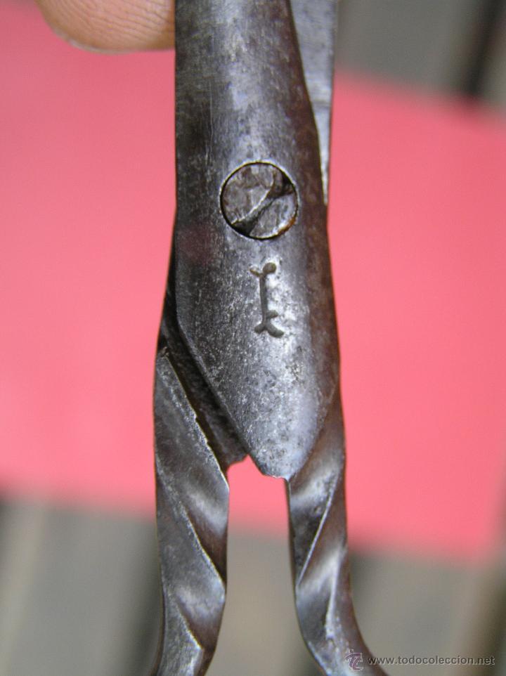 Antigüedades: TIJERAS ANTIGUAS,Marca de fabricante. Principios Siglo XIX. - Foto 4 - 45458213