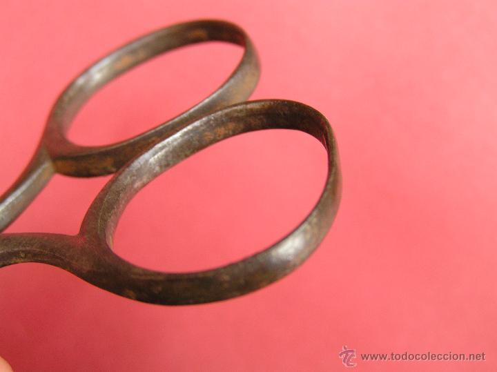 Antigüedades: TIJERAS ANTIGUAS,Marca de fabricante. Principios Siglo XIX. - Foto 11 - 45458213