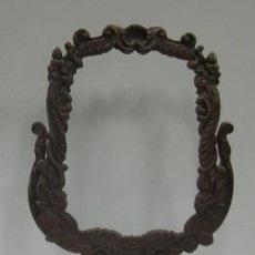 Antigüedades: ANTIGUO ESPEJO BASCULANTE DE TOCADOR EN BRONCE. Lote 45464436