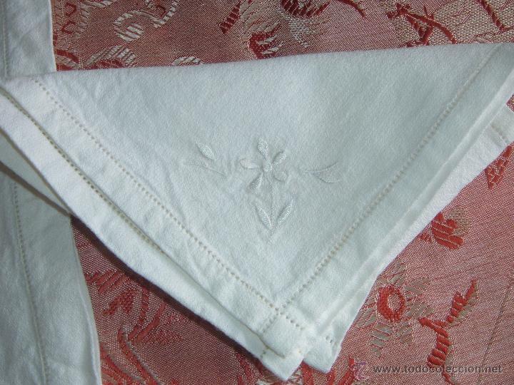 Antigüedades: Mantel y 6 servilletas - Foto 2 - 45464729