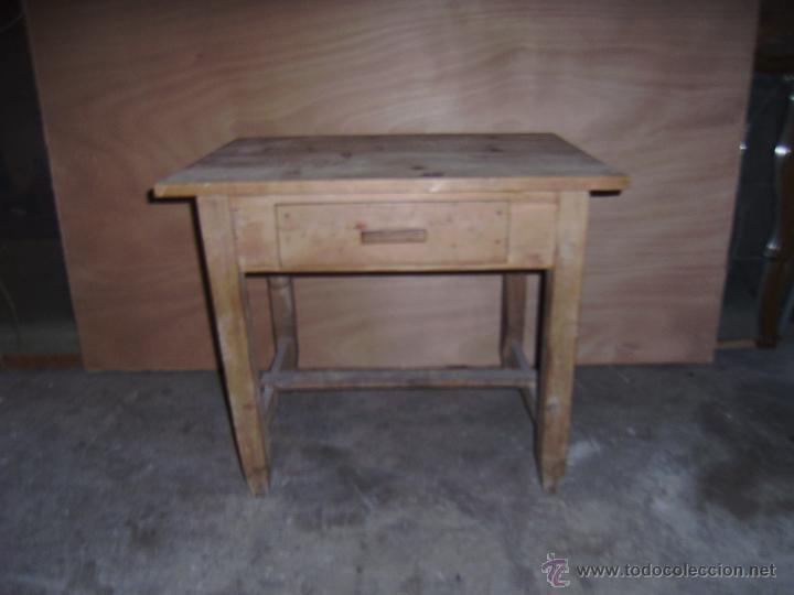 Antigua mesa rustica de cocina o tocinera comprar mesas for Mesa cocina rustica
