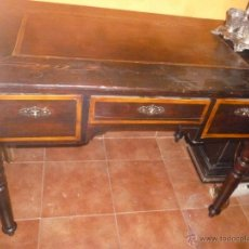 Antigüedades: MESA ESCRITORIO ANTIGUA. Lote 45497183
