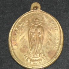 Antigüedades: MEDALLAS RELIGIOSA, LA PURISIMA CONCEPCION, SAN PASCHALIS BAYLON, ROMA - 2ª. Lote 45500407