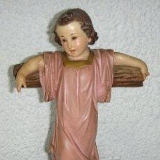 Antigüedades: NIÑO JESÚS DE OLOT. OJOS DE CRISTAL.. Lote 45502012