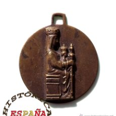 Antigüedades: MEDALLA RELIGIOSA NUESTRA SEÑORA DE MONTESCLAROS. Lote 45510134