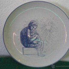 Antigüedades: PLATO DE PORCDELANA VISTAALEGRE. Lote 45511541