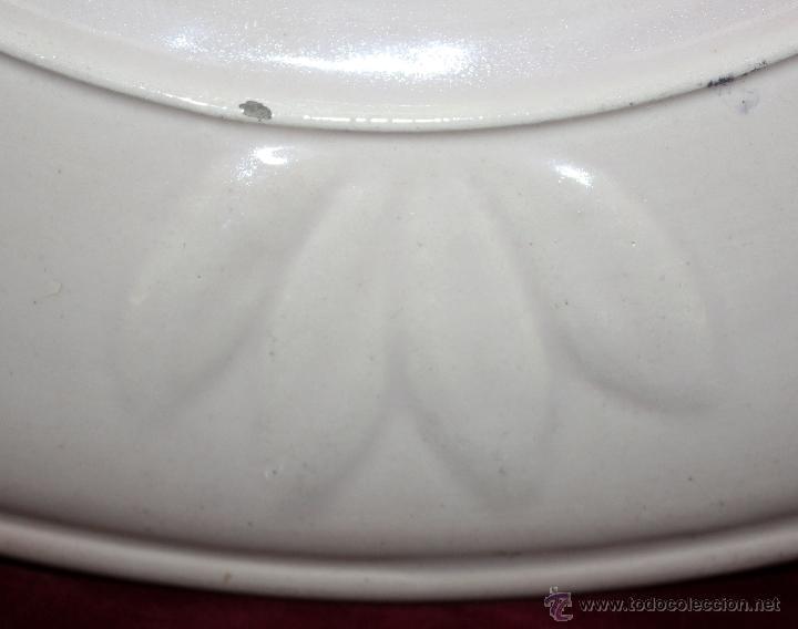 Antigüedades: PLATO DE TALAVERA O TOLEDO ?? DEL SIGLO XIX - Foto 4 - 45523969