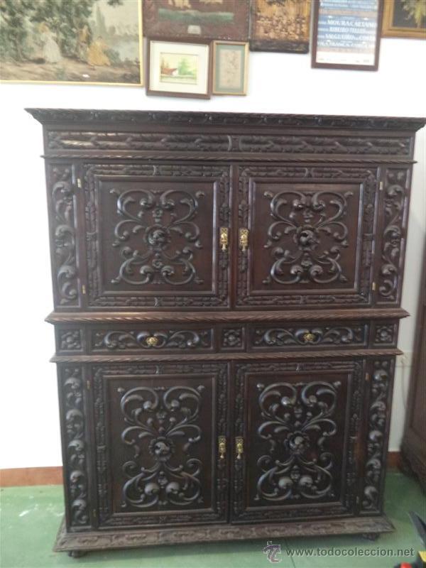Mueble estilo espa ol renacimiento comprar aparadores - Muebles castellanos antiguos ...