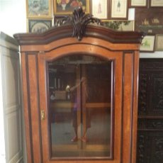 Antigüedades: MUEBLE VITRINA GRANDE. Lote 45534912