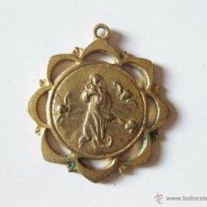 Antigüedades: PEQUEÑA MEDALLA RELIGIOSA DE LA VIRGEN MARIA. Lote 45564789