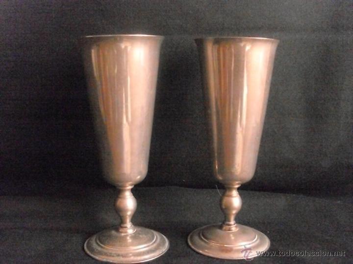 COPAS DE PLATA SILVER VISIUC S.A (Antigüedades - Hogar y Decoración - Copas Antiguas)