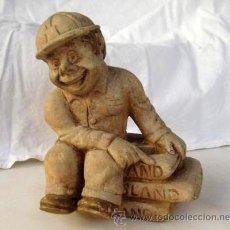 Antigüedades: FIGURA PUBLICIDAD : CEMENTOS PORTLAND ASLAND. Lote 45586751