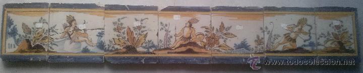 EXCEPCIONAL CONTRAHUELLA DE CERAMICA TRIANA SIGLO XVII (Antigüedades - Porcelanas y Cerámicas - Triana)