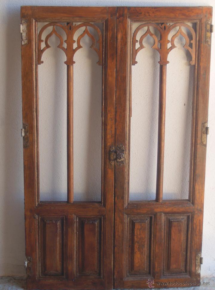 Antiguas puertas de alacena 86 de altas y 72 d vendido for Puertas correderas antiguas