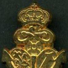 Antigüedades: INSIGNIA ORO DE LA ( DEFENSION ) HERMANDAD Y COFRADIA DE LA SEMANA SANTA DE JEREZ LEER DENTRO. Lote 115260812