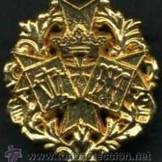 Antigüedades: INSIGNIA ORO DE EL ( AMOR ) HERMANDAD Y COFRADIA DE LA SEMANA SANTA DE JEREZ LEER DENTRO. Lote 115260802