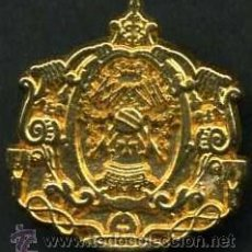 Antigüedades: INSIGNIA ORO DE LAS ( AMARGURA ) HERMANDAD Y COFRADIA DE LA SEMANA SANTA DE JEREZ LEER DENTRO. Lote 115260819