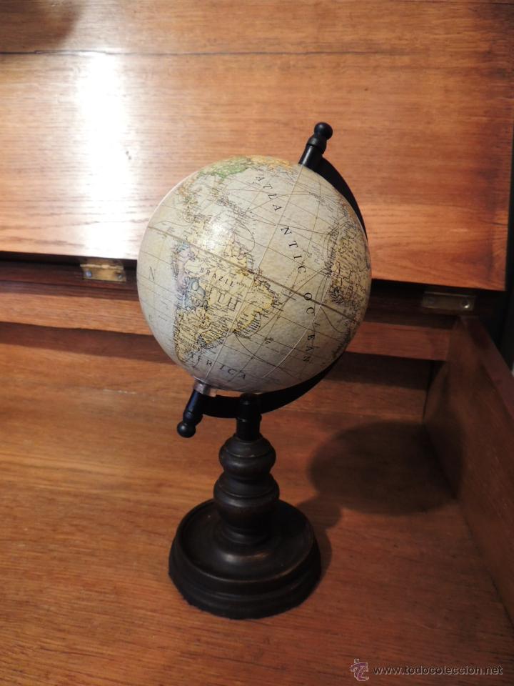 Bola del mundo globo terraqueo con pie de mader comprar - Bola del mundo decoracion ...