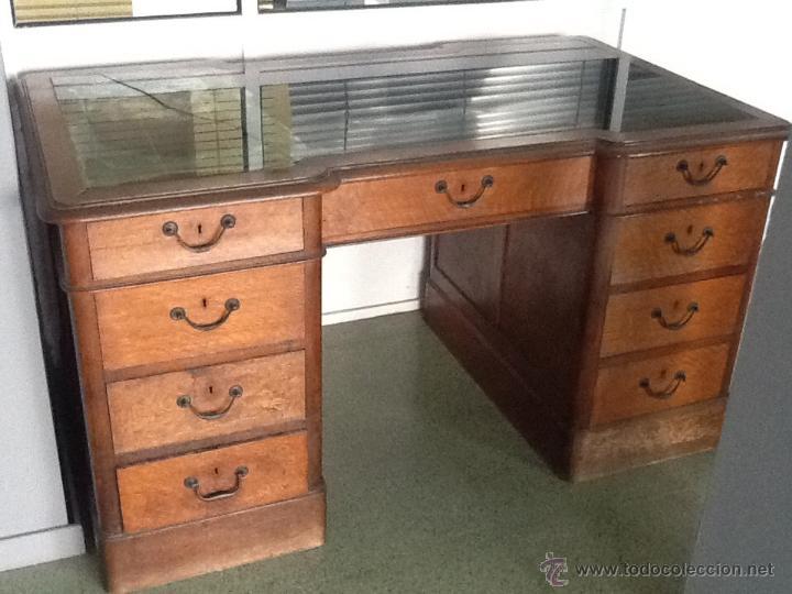Mesa despacho escritorio comprar mesas de despacho - Mesas de escritorio antiguas ...
