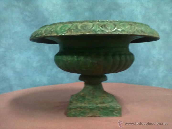COPA FUNDICION DE HIERRO (Antigüedades - Hogar y Decoración - Copas Antiguas)