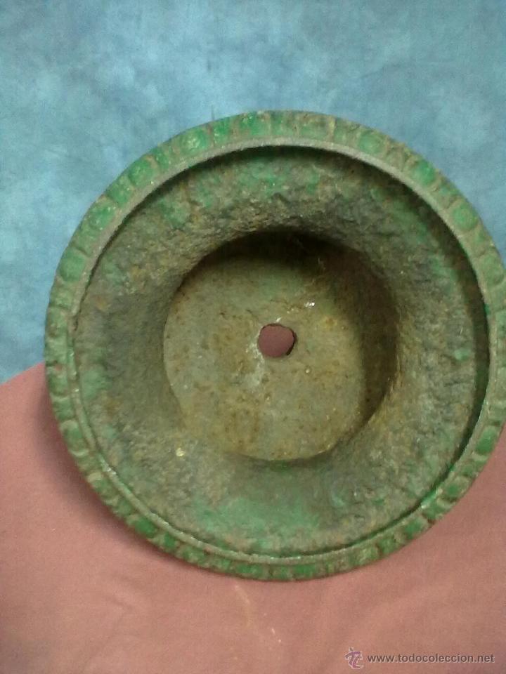 Antigüedades: COPA FUNDICION DE HIERRO - Foto 5 - 45622055