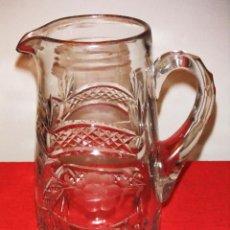 Antigüedades: ANTIGUA JARRA DE CRISTAL TALLADO. Lote 45625121