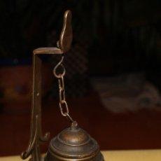 Antigüedades: LÁMPARA DE BRONCE. Lote 45625502