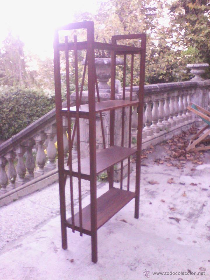 Antigüedades: Estantería de madera - Foto 5 - 40445679