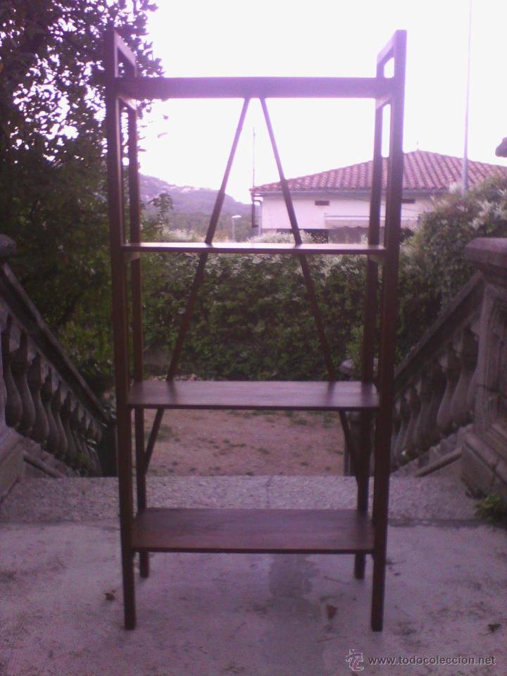 Antigüedades: Estantería de madera - Foto 6 - 40445679