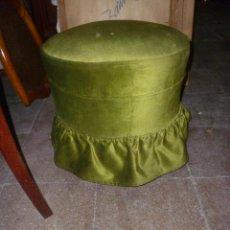 Antigüedades: BANQUETA DE DORMITORIO. Lote 45637263