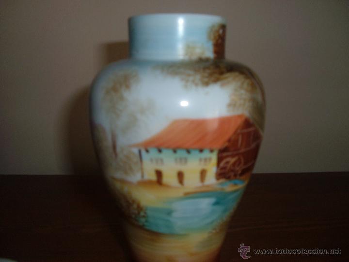 Antigüedades: Tibor de porcelana - Foto 3 - 45641460